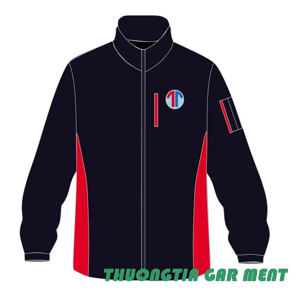 may áo gió đồng phục mẫu TT