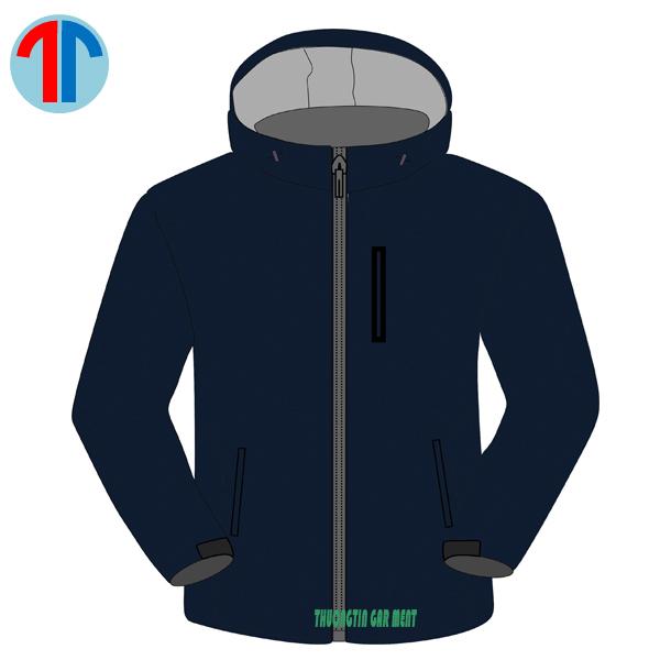 may áo gió mẫu t18