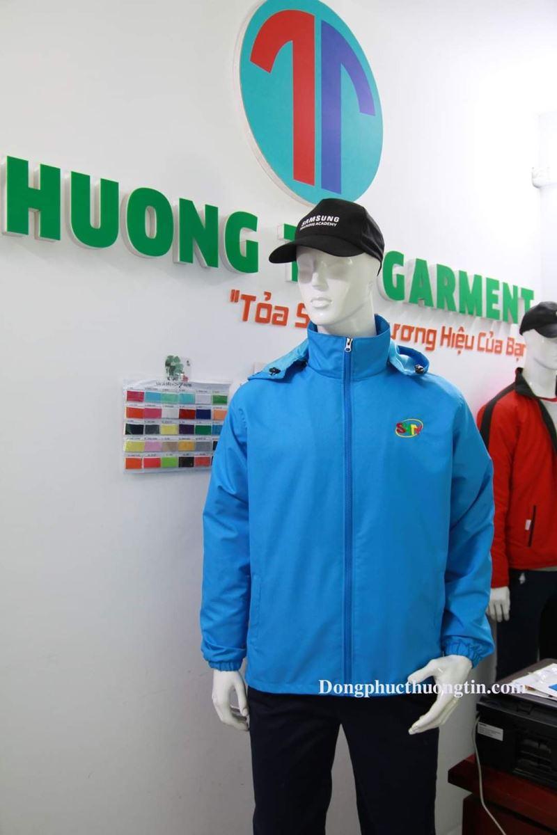 Xưởng may áo khoác áo gió đồng phục Cần Thơ