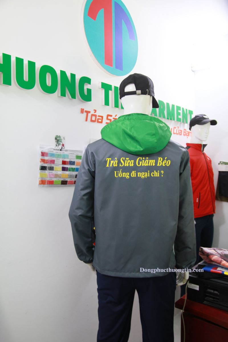 Xưởng may áo khoác đồng phục tại Hà Nội