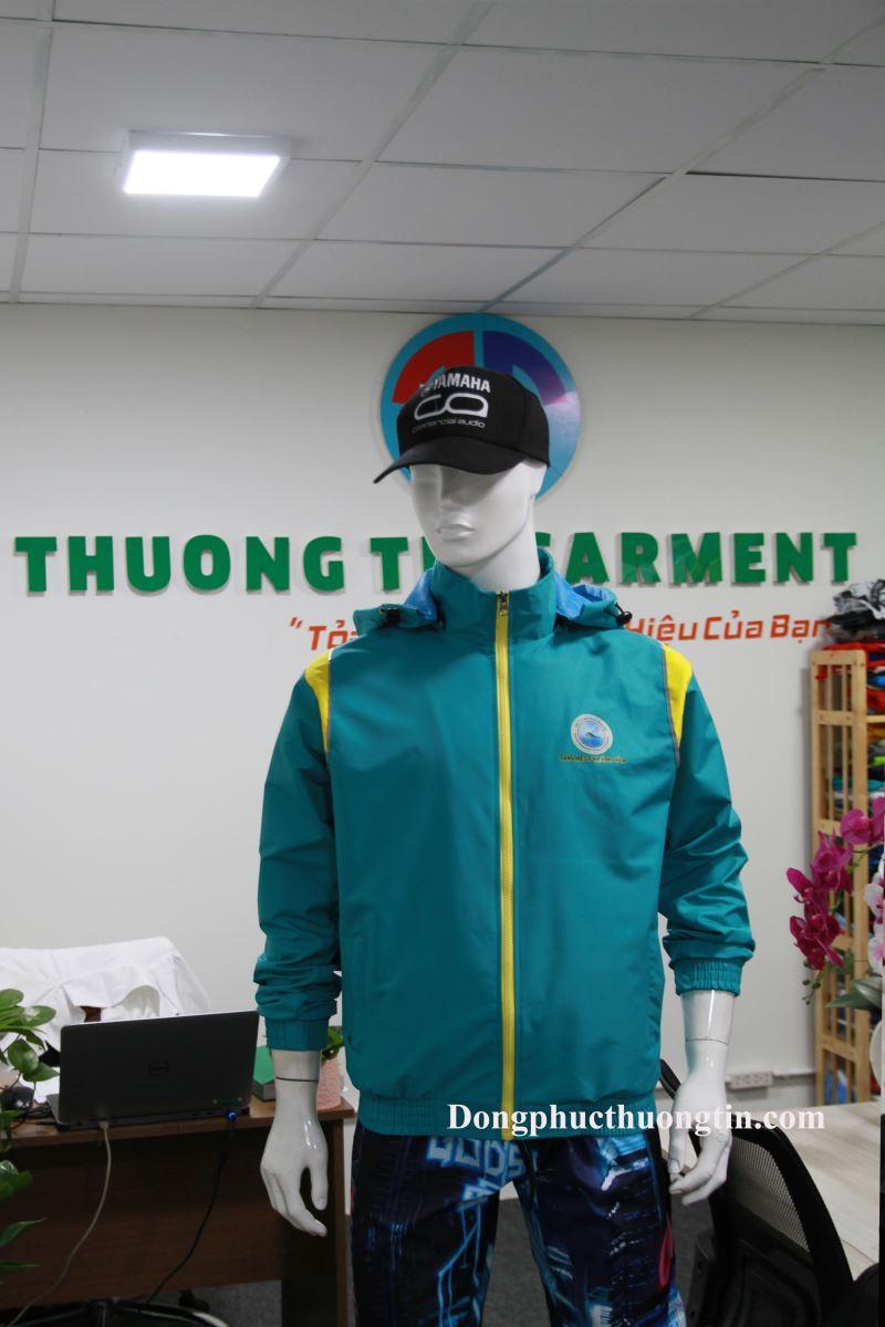 Xưởng may áo khoác đồng phục tại Bình Dương