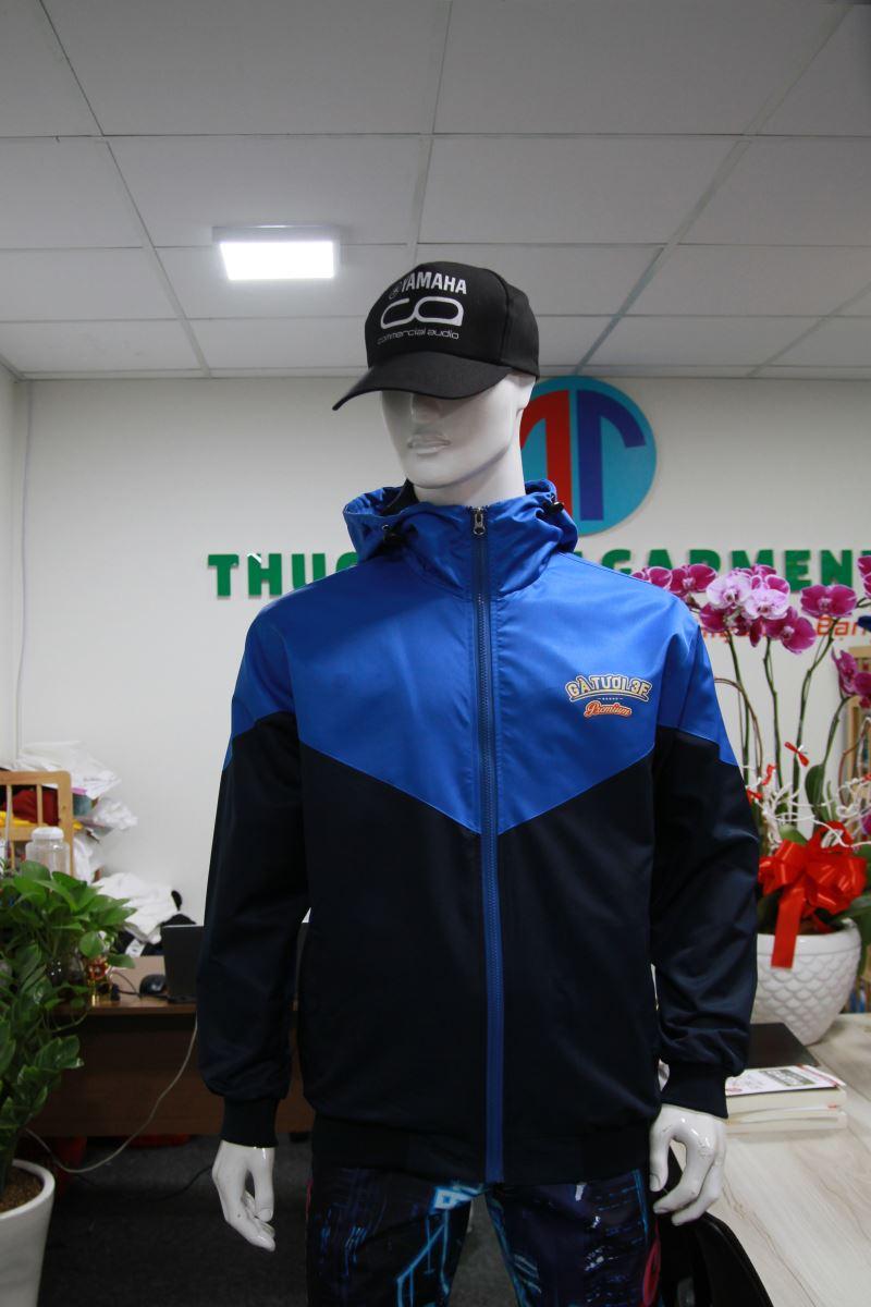 Xưởng may áo khoác áo gió đồng phục An Giang