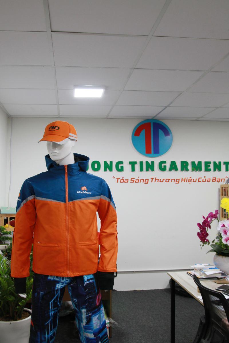 May áo đồng phục giao hàng nhanh đẹp, bền, giá rẻ