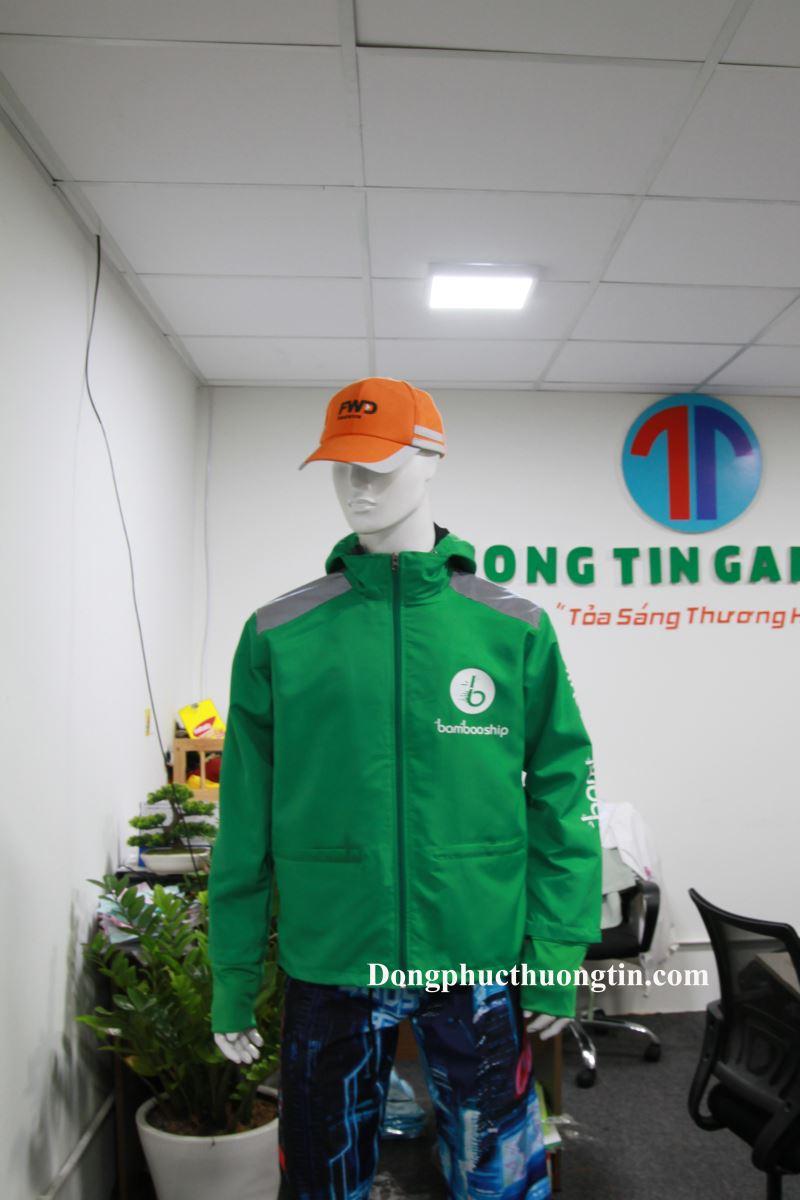 Xưởng may áo khoác, áo gió đồng phục  tại TPHCM giá rẻ, chất lượng