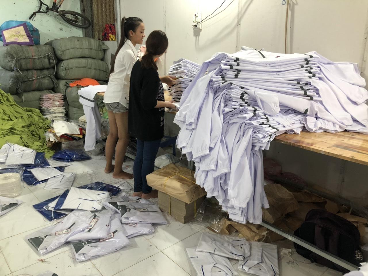Xưởng may áo gió giá rẻ tại thành phố Hồ Chí Minh