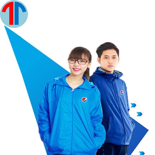 xưởng may áo gió đồng phục giá rẻ